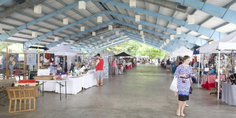 The Decatur Art Guild arts and crafts show is a crowd favorite each year. – Glenn Wheeler