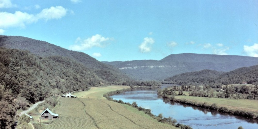 The Hiwassee River is the centerpiece of the Reliance Historic District – Harold Webb Sr.