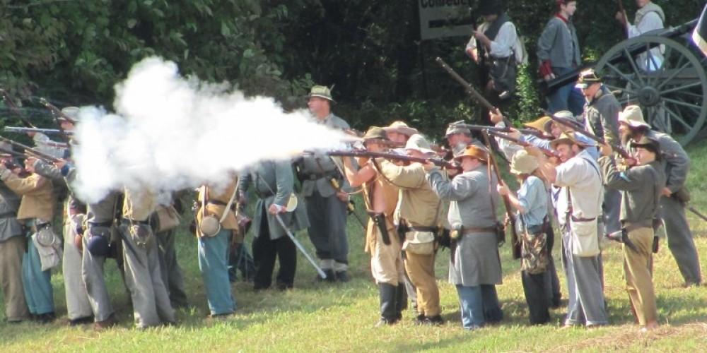 Civil War Battle, Fall Festival-Cherokee's in the Civil War – Bob Eldridge