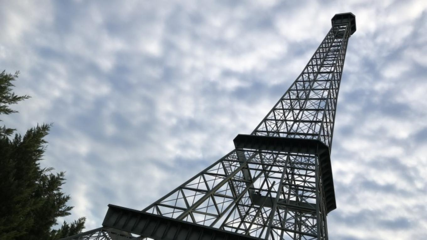 The 66-foot Eiffel Tower is considered the 12th-tallest Eiffel Tower replica in the world. – Susan Jones
