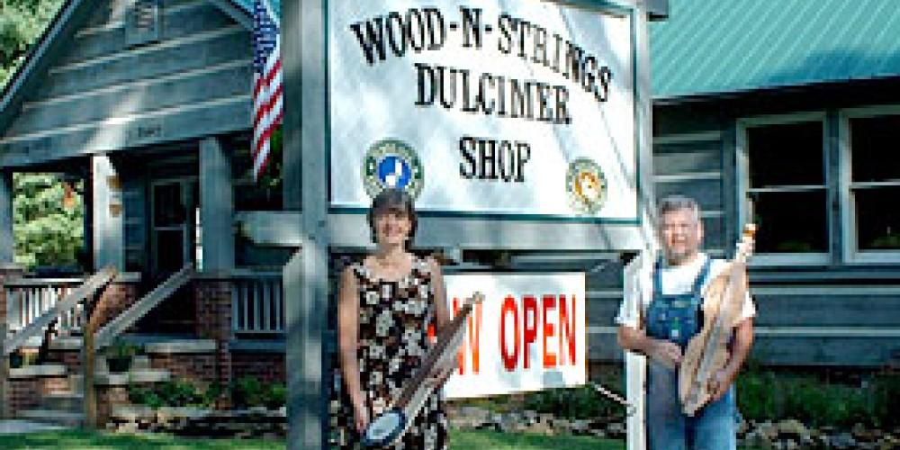 Mike and Connie at Wood 'N Strings – Wood 'N Strings Dulcimer Shop