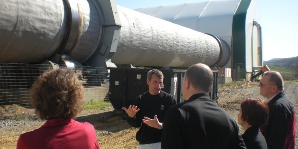 Gatlinburg Goes Green members tour Sevier Solid Waste, Inc, a state-of-the-art composting plant right here in Sevier County! – Erin Moran