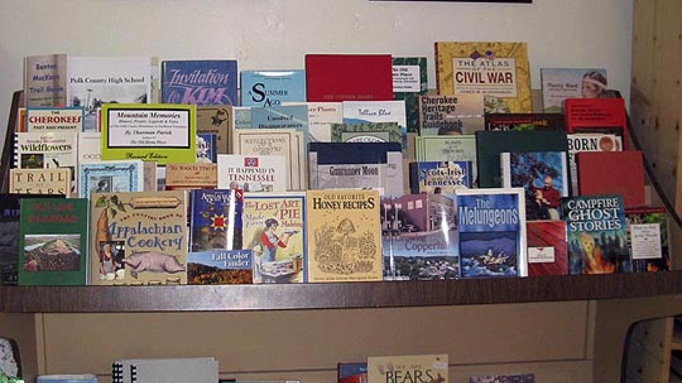 Books of regional and historical interest are available, as well as a wide variety of used books. Framed artwork is also for sale. – Cheryl Maxwell