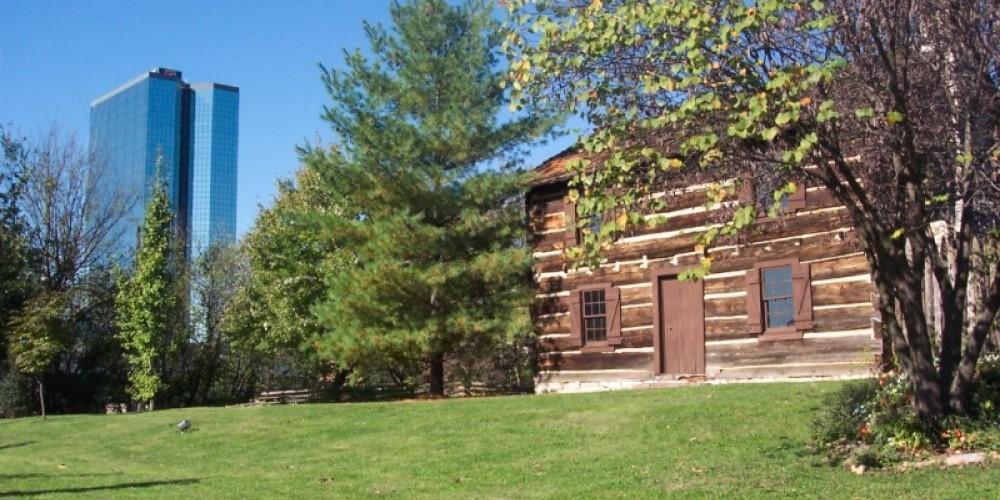 James White's 1st Home, c1786 – R. McGinnis