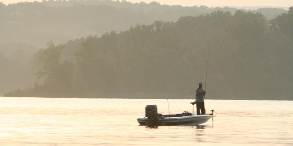 Fishing on Watts Bar Lake – Pam May