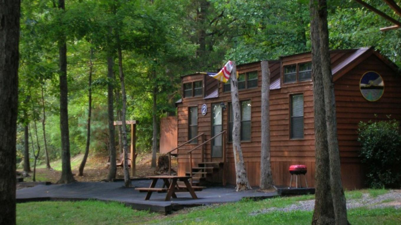 We also offer cabin rentals at the Ocoee River outpost, call 1-800-827-1442