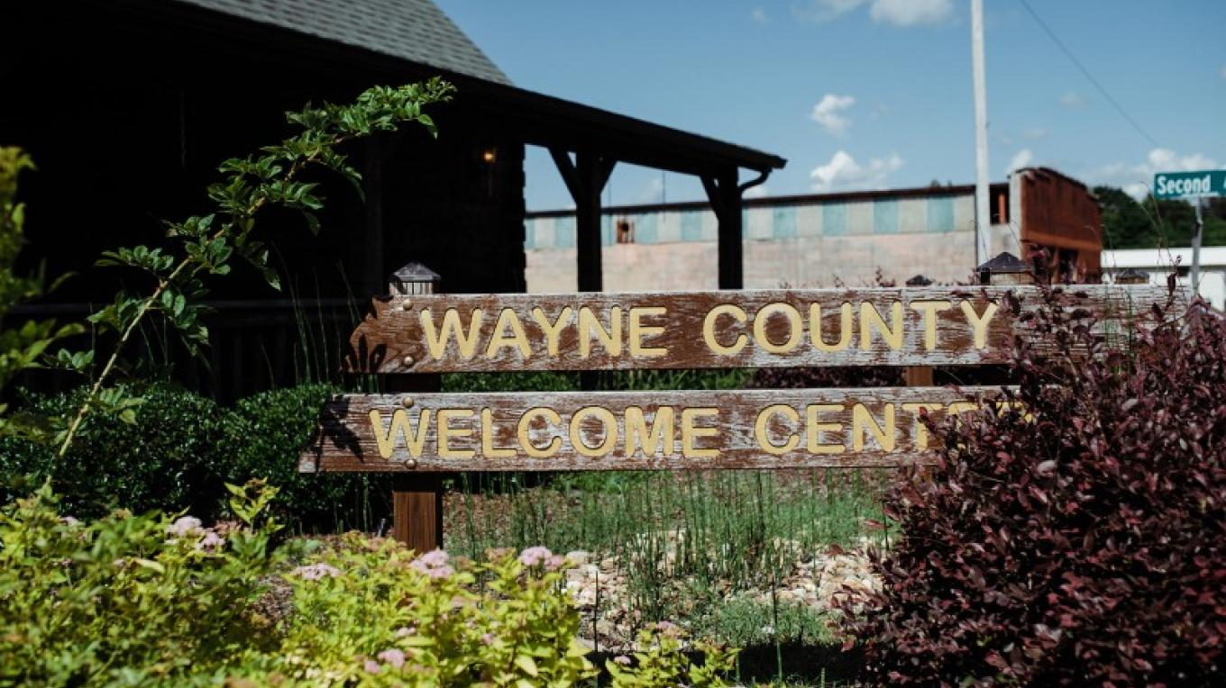 Wayne County Welcome Center (milepost 355) – Cari Griffith