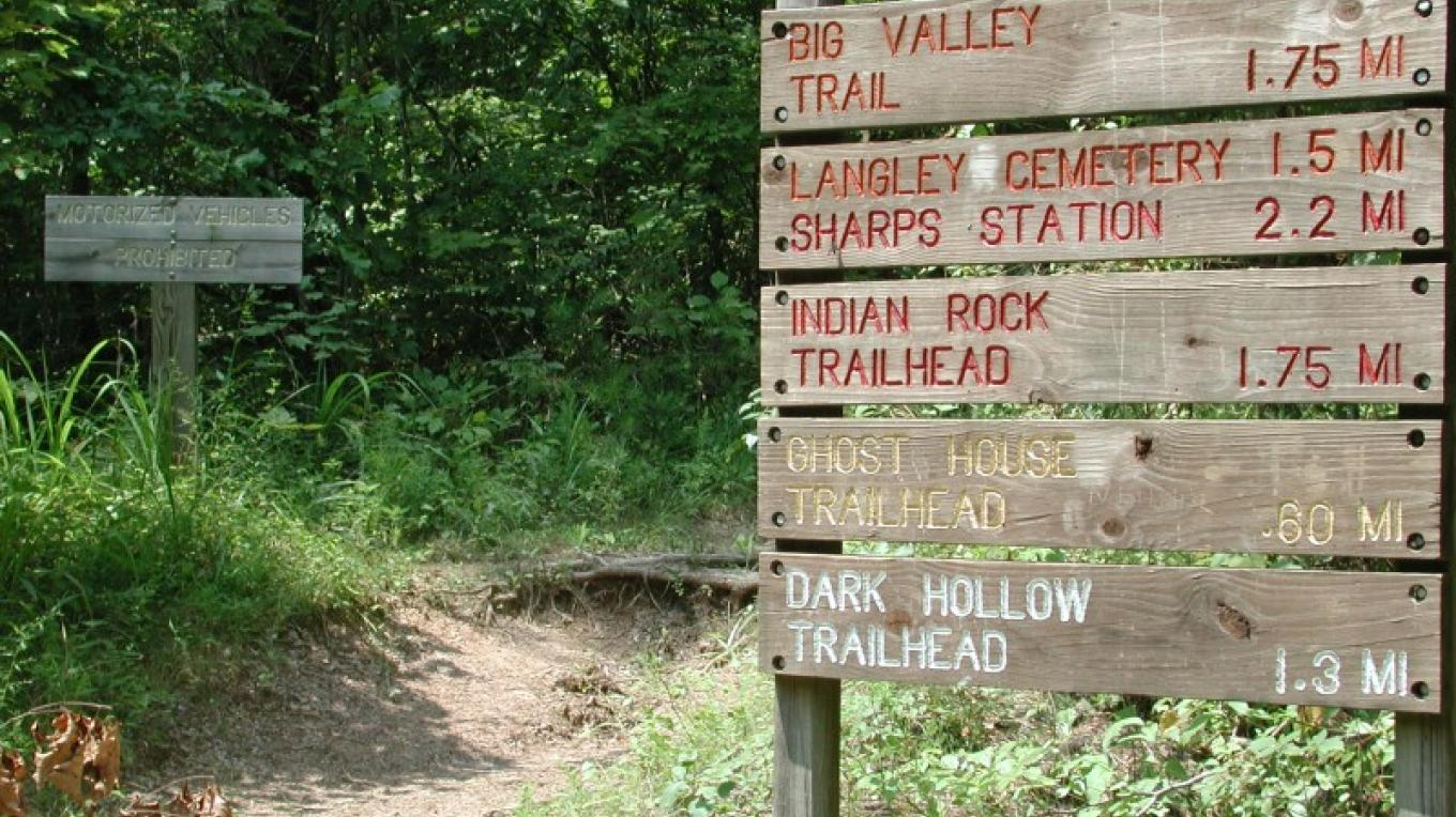 Trail signs – Chamber