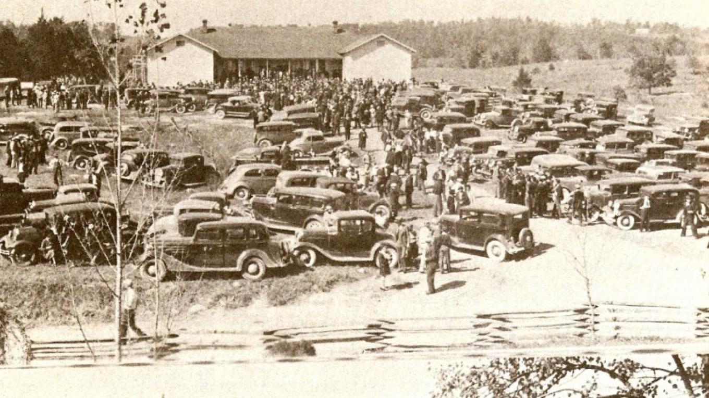 Last round up at Loyston School Oct 14, 1935