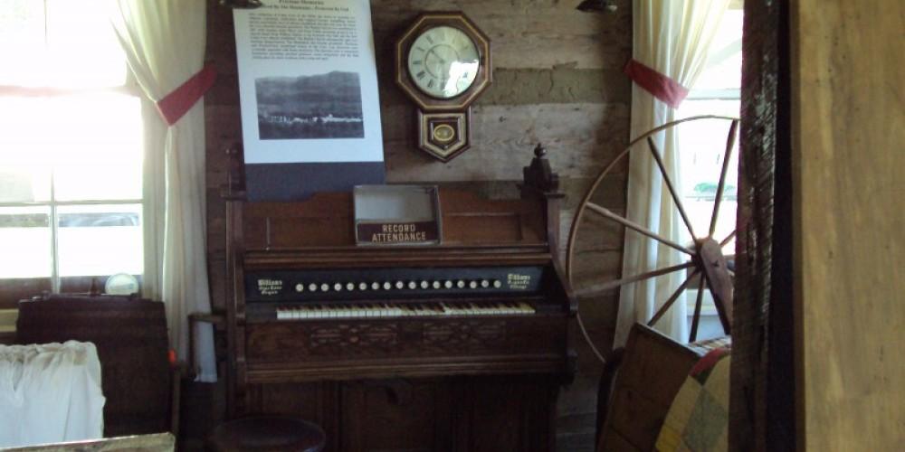 Organ used in Cades Cove church – Stephen Weber