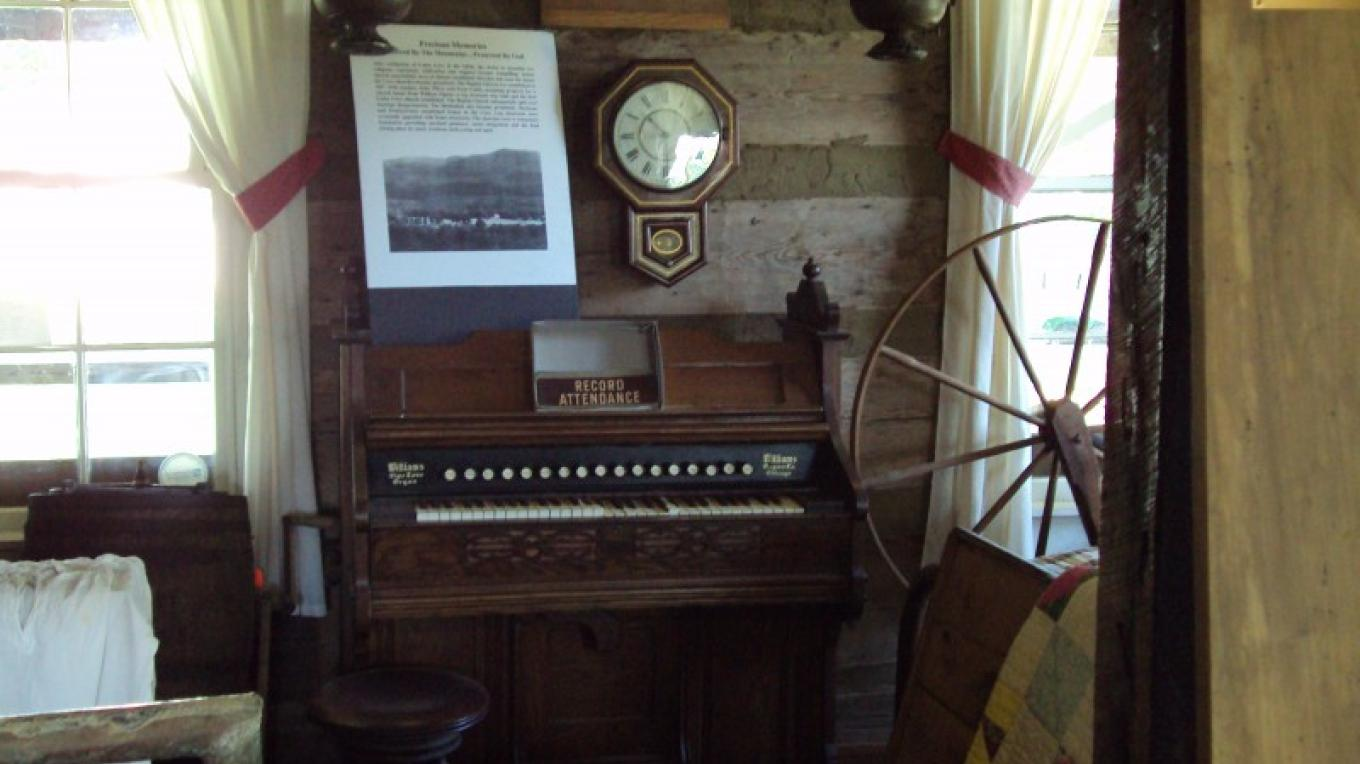 Organ used in Cades Cove church – Stephen Weber