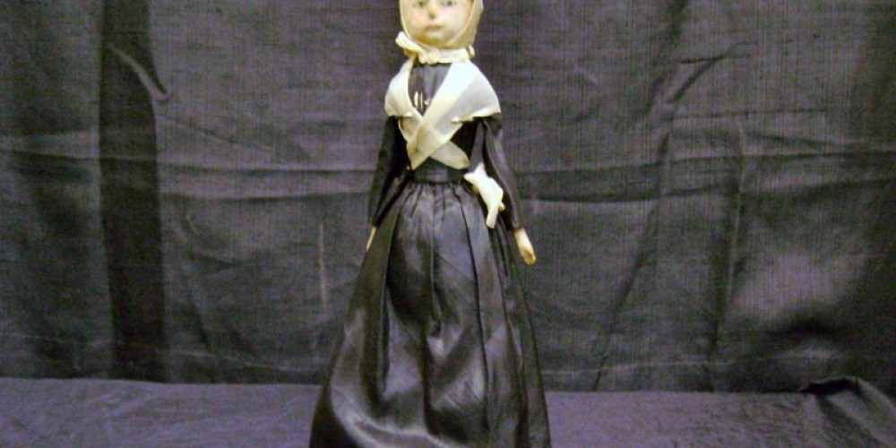 Abbie, one of the Museum's oldest (and most popular) artifacts. Visit today to see our entire vintage toy collection.