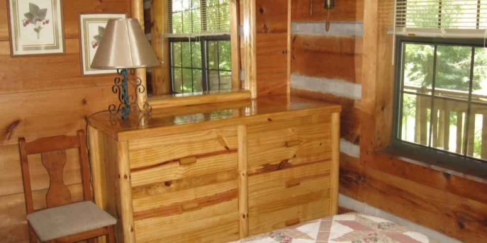 Bedroom #1 Cabin #1 – Patricia Scott