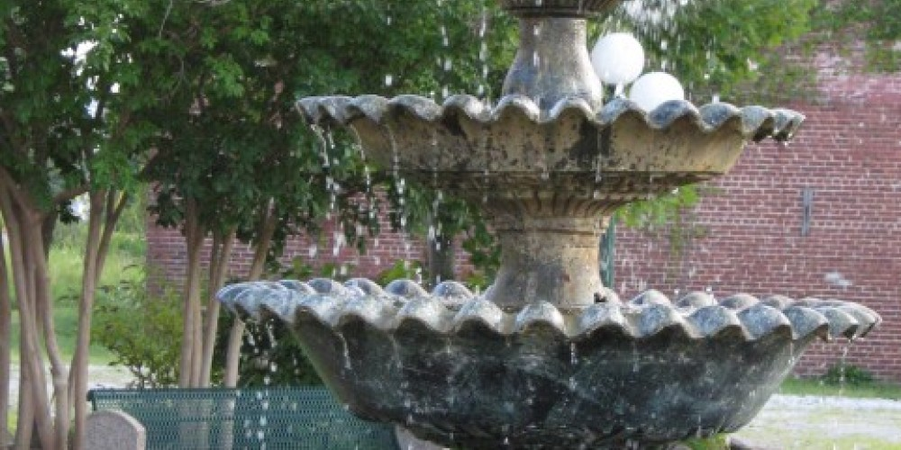 Rockwood Homecoming Park Fountain – Pam May