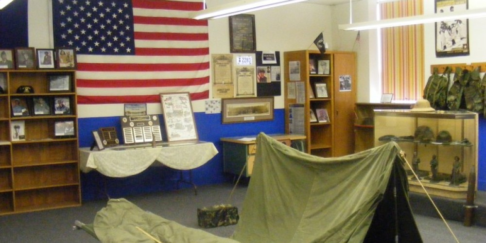 Emery Center Military Display – Dionna Reynolds