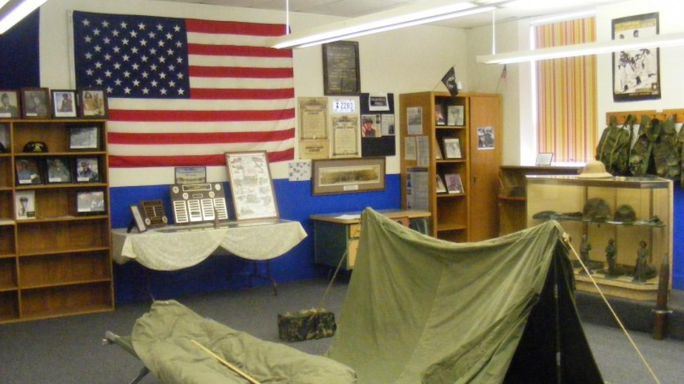 Emery Center Military Display – Dionna Reynolds