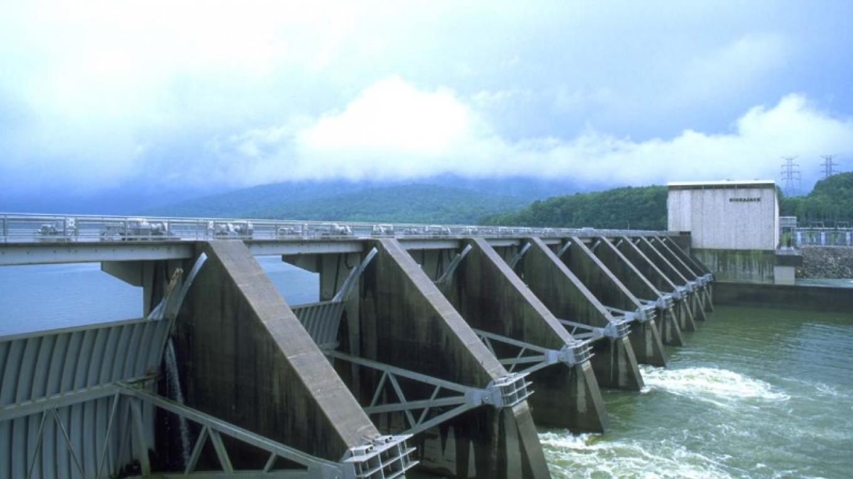 Nickajack Dam spilling – TVA