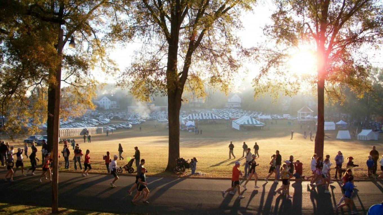 2010 Chickamauga Marathon - starting/finishing on Barnhardt Circle – Radonna Parrish