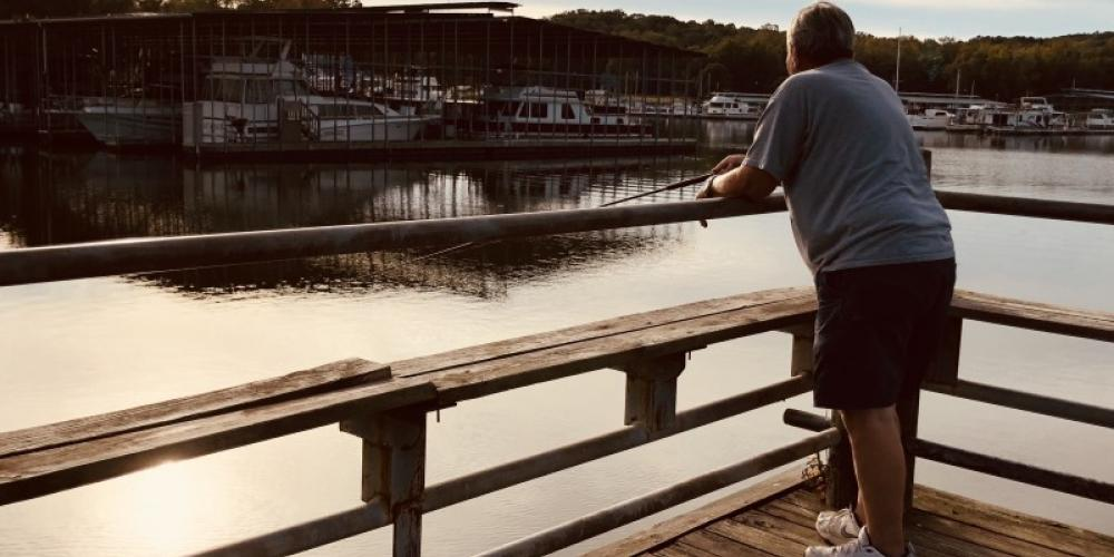 Fishing at its finest is found on beautiful Kentucky Lake. – Susan Jones