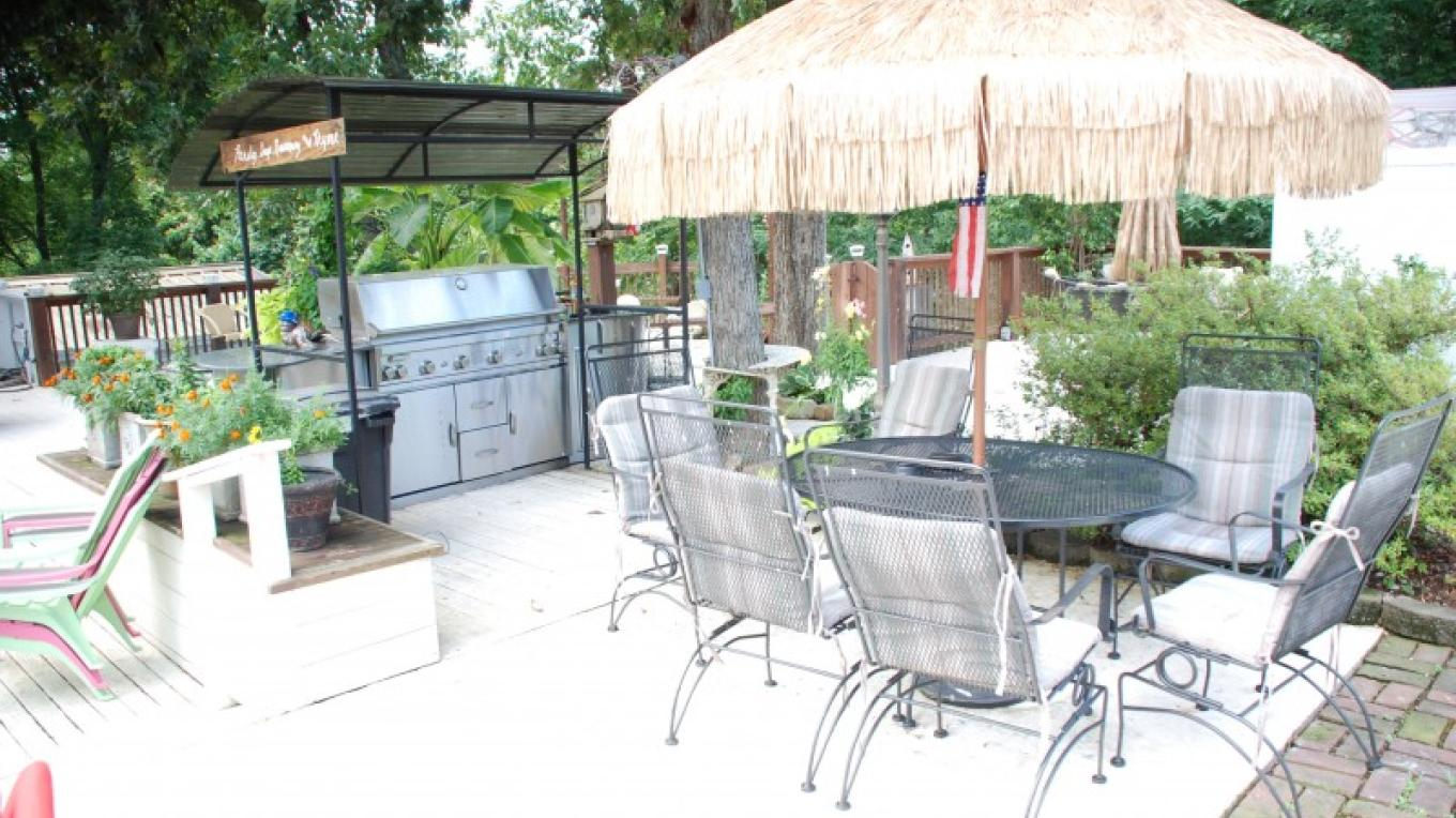 Grilling area for our guests – Ann Martin