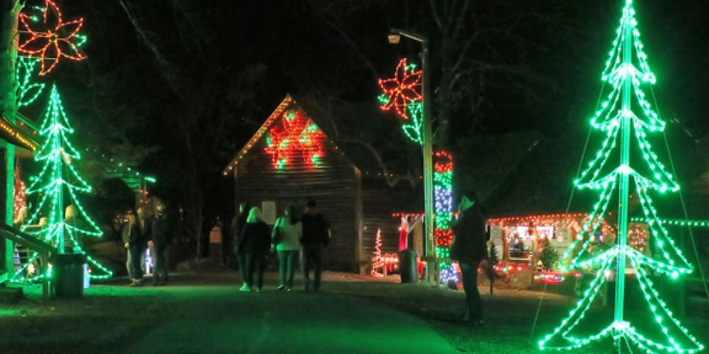 Lights in Pioneer Village – JBL Photography