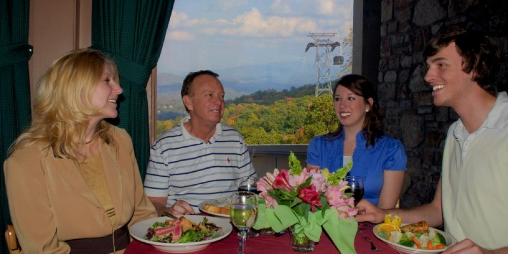 Dinner with a view! – Ober Gatlinburg