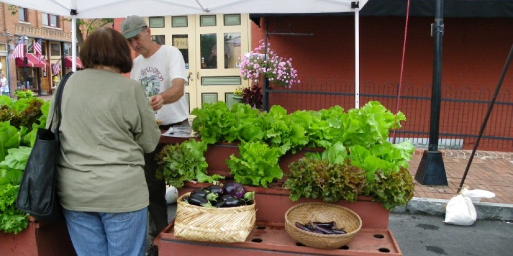 Curtis Buchanan, Market Mgr, Lettuce and Eggplant – Susan Roberts