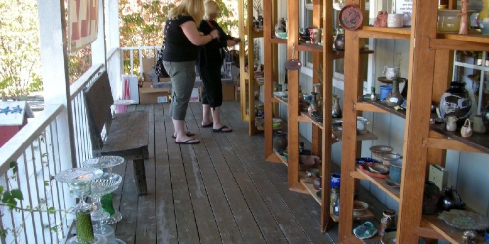 The popular Porch Sales are held each March and October.