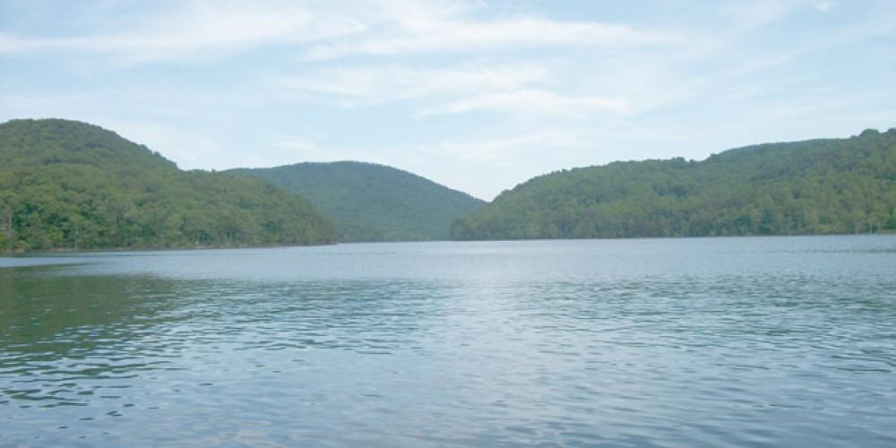 Norris lake main channel
