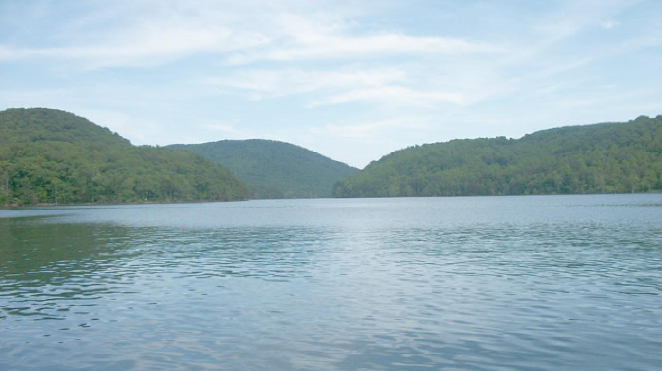 Norris lake main channel