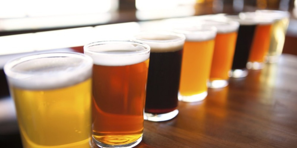 Craft Beer Samplers will be served