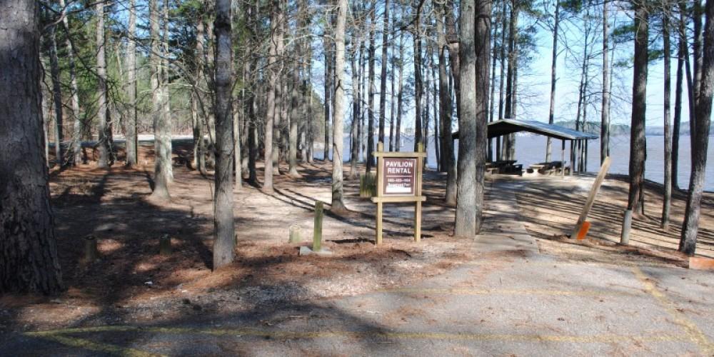 Pavilion rental sign – James Gibson