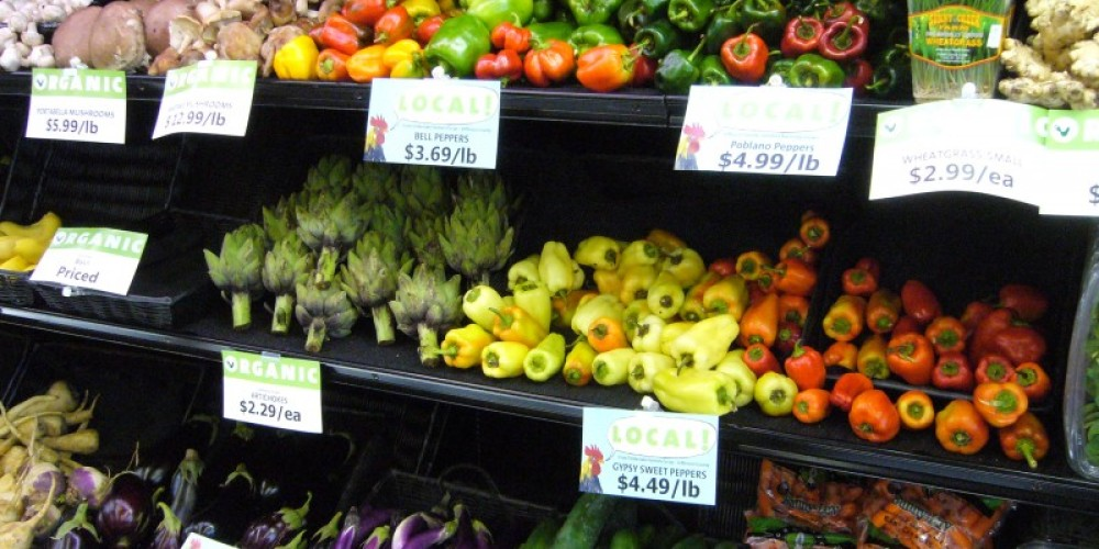 Some locally grown produce at Three Rivers Market. – Three Rivers Market