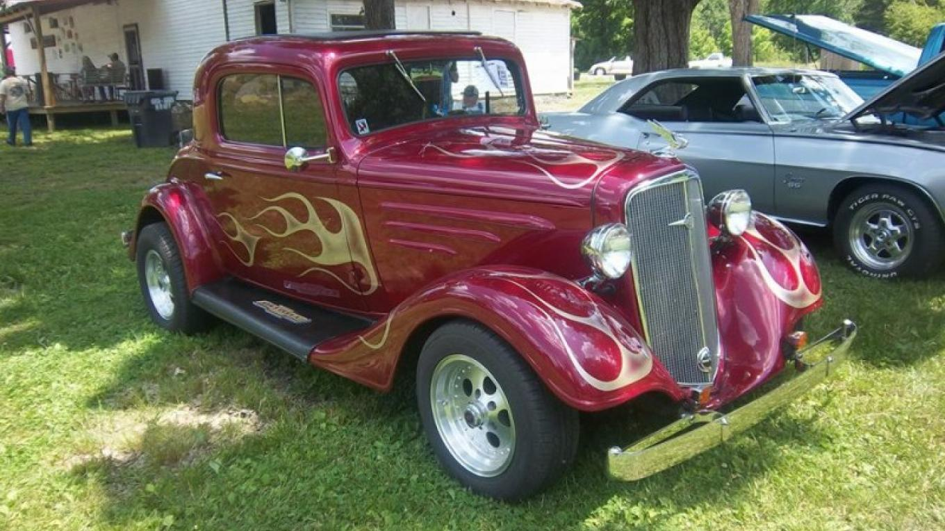 Several times a year, R.M. Brooks sponsors the Rugby Rumble with a day of fun and antique cars!