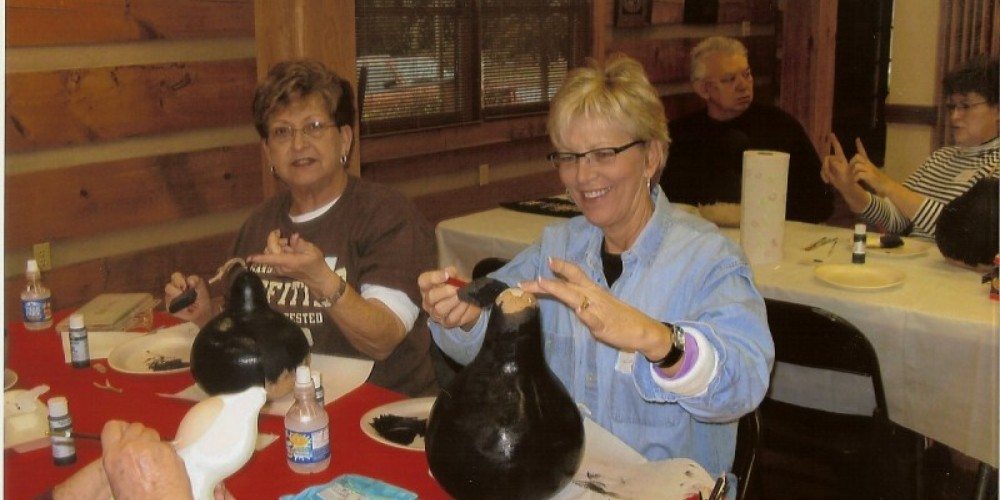 Craft class at Townsend Visitors Center – Townsend Visitors Center