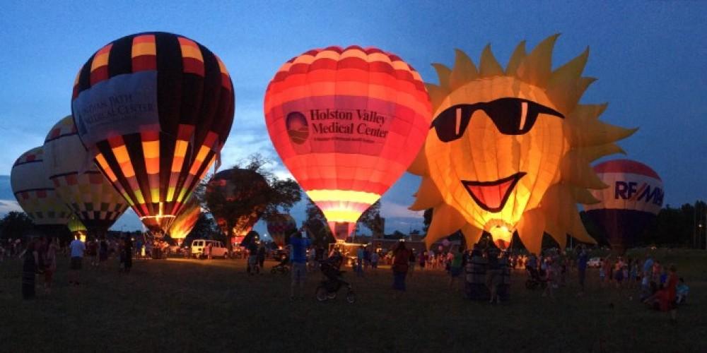 Hot Air Balloon Glow at Fun Fest – Visit Kingsport