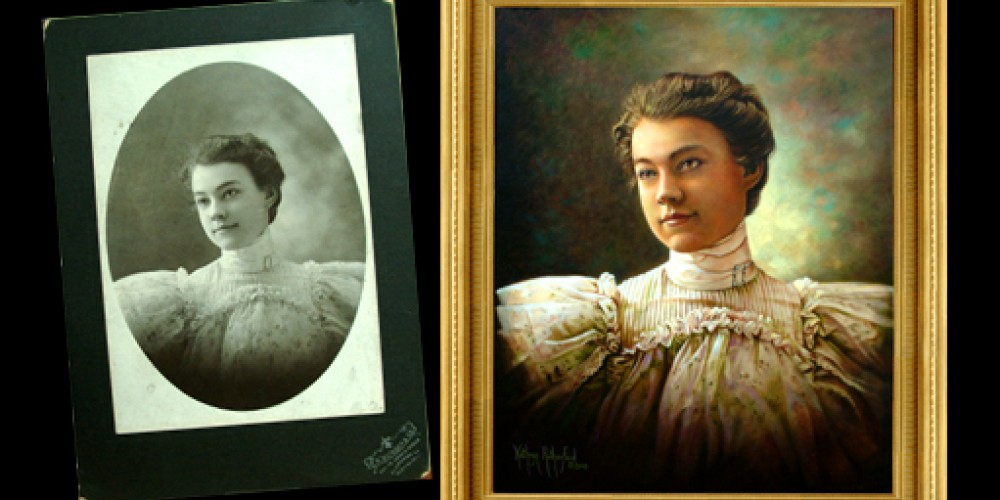 Original Portrait in Oil by Kathryn Rutherford
