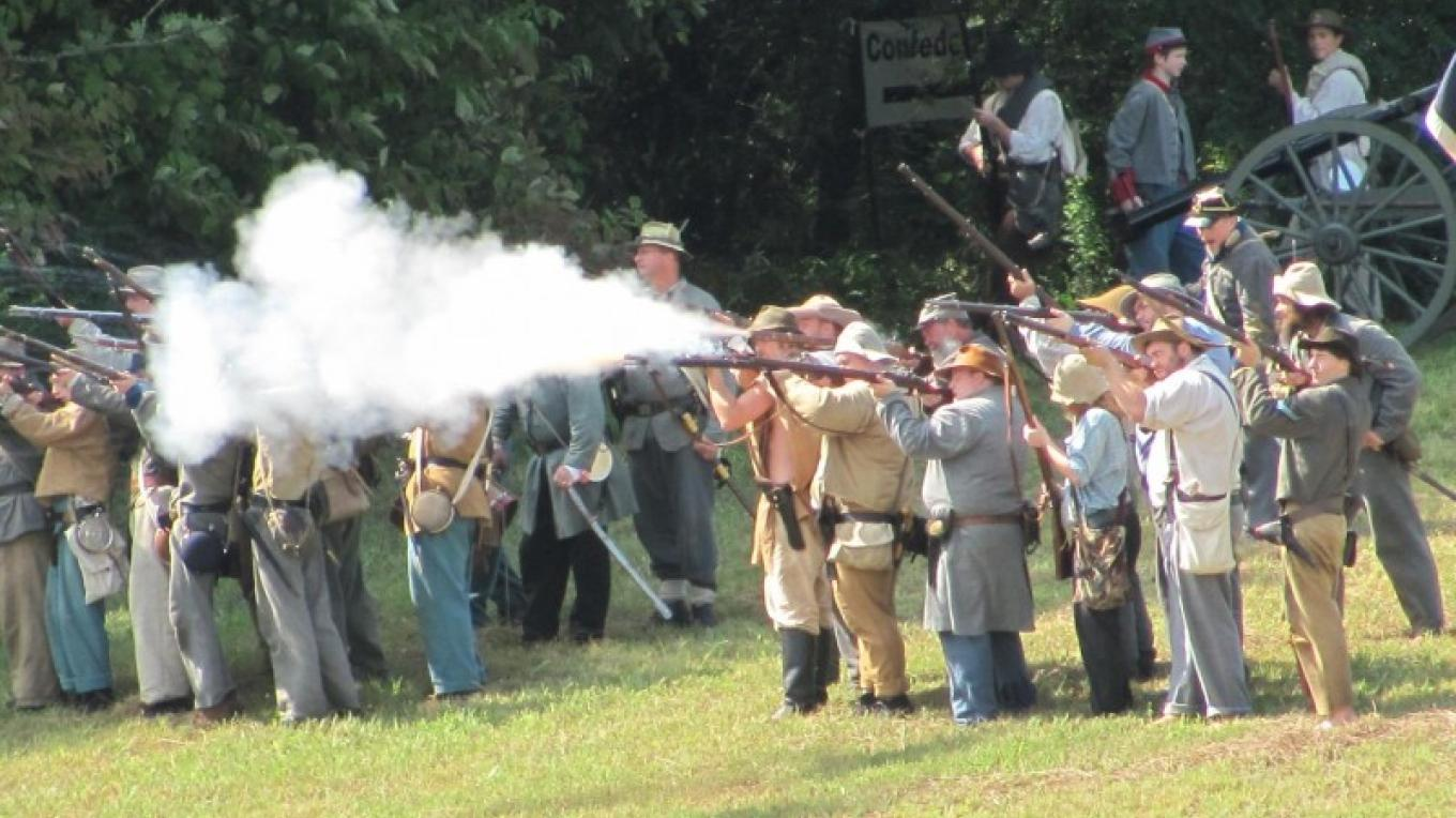 Civil War Re0enactment Battle – Harley McMahan