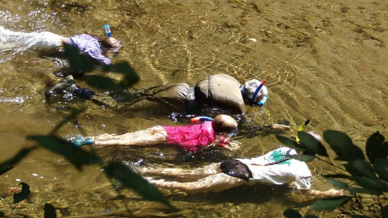 Snorkeling on Citico Creek – Delores Sowders