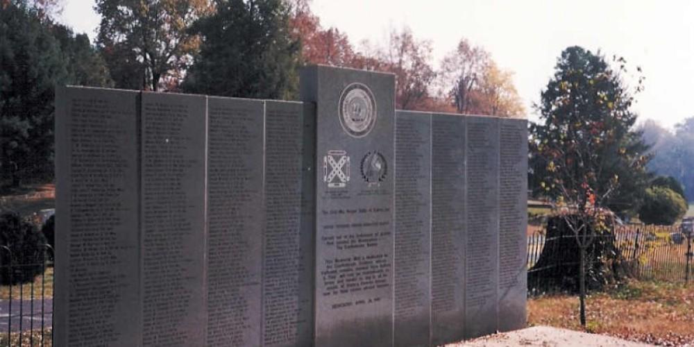 Confederate Cemetery at West Hill Cemetery – Dalton CVB