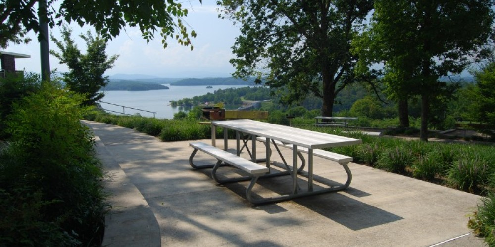 Douglas Dam overlook area – TVA