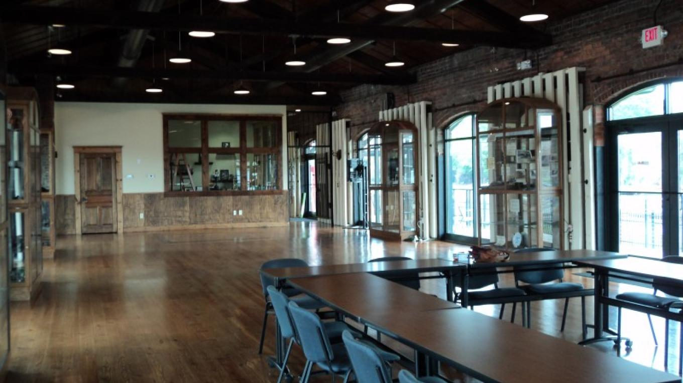 Exhibit Hall of the Dalton Freight Depot – Ty Snyder