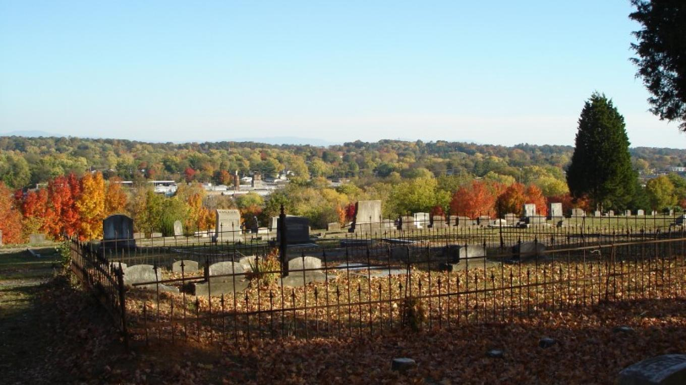 Stunning views of Cleveland from Fort Hill Cemetery – Melissa Woody