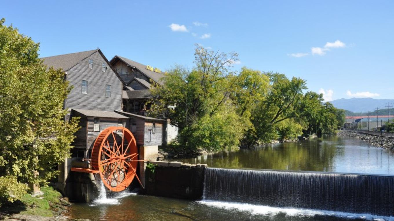 The Old Mill In Pigeon Forge, Tennessee