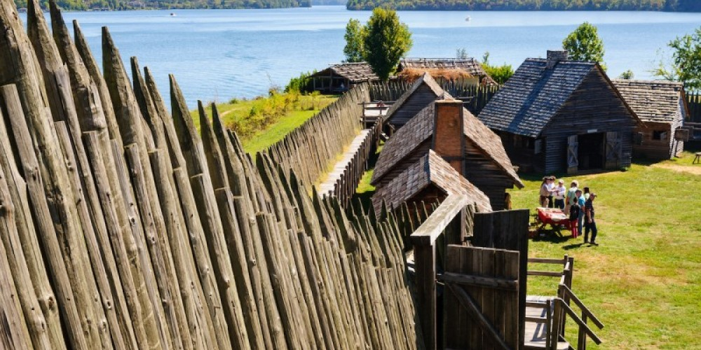 Fort Loudoun State Historic Site overlooking Little Tennessee River – Zack Frank