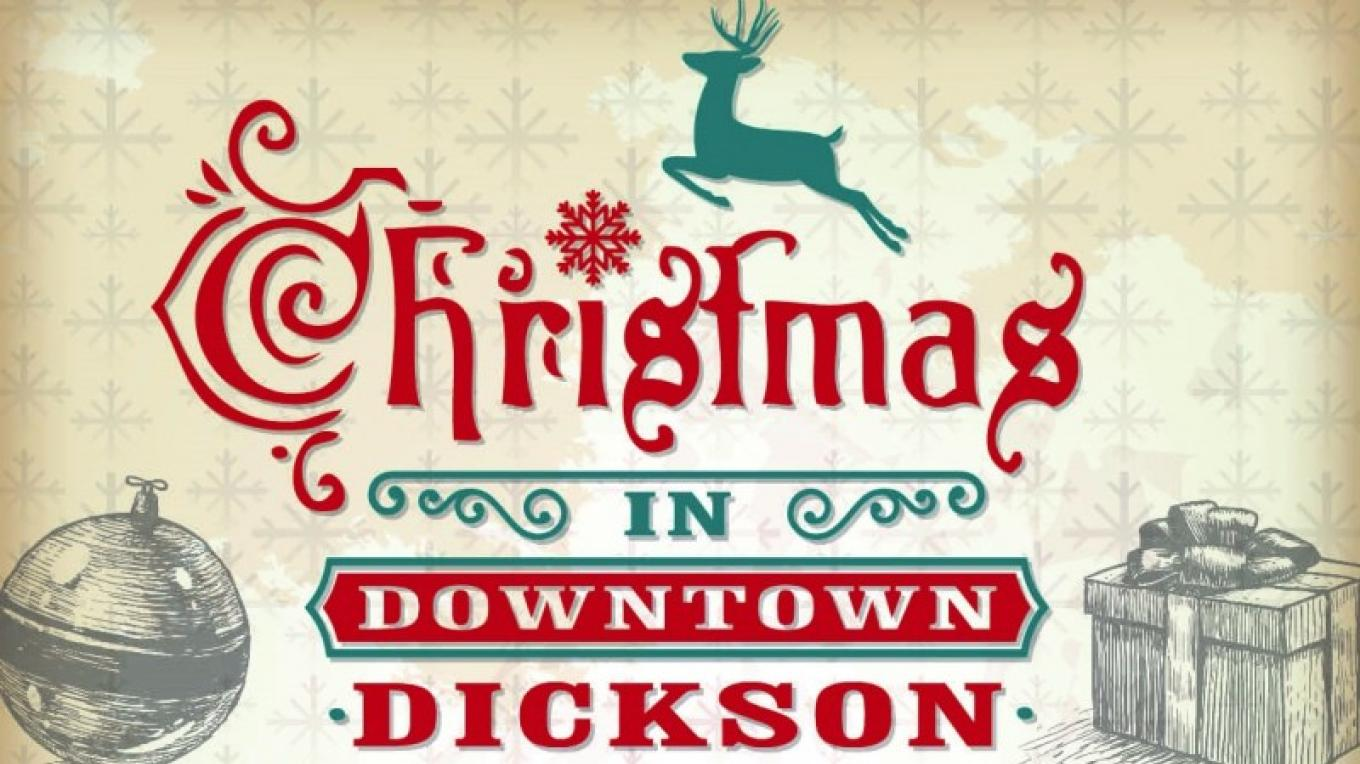 Christmas in Downtown Dickson, the first Friday in December every year.