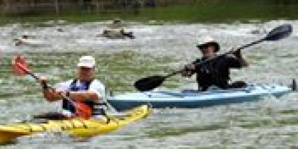 Kayaking on the Powell – Well Being Retreat Center