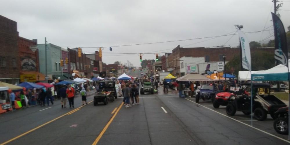 A picture of the Big Creek Fall ATV Festival