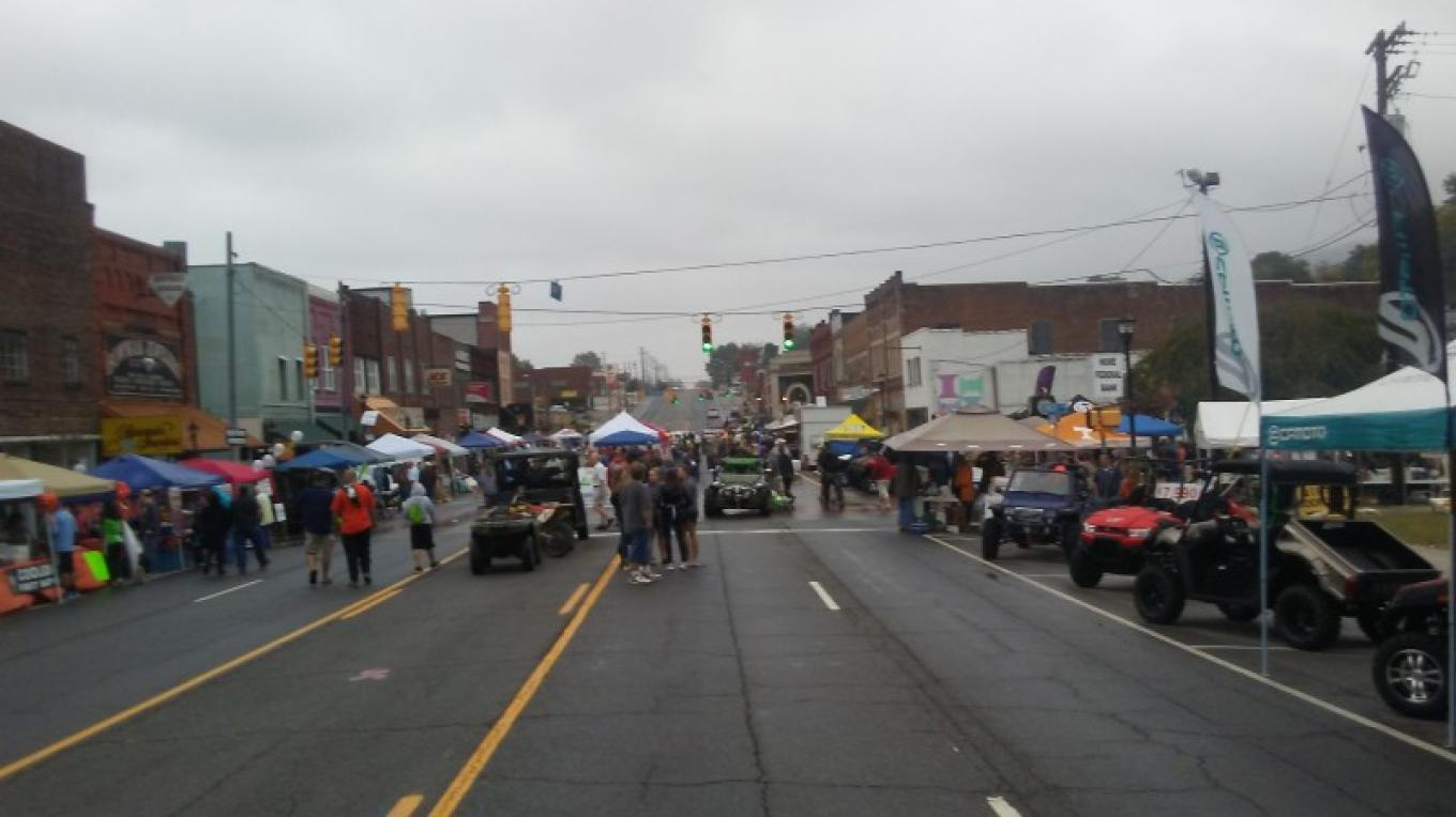 A picture of the Big Creek Fall ATV Festival