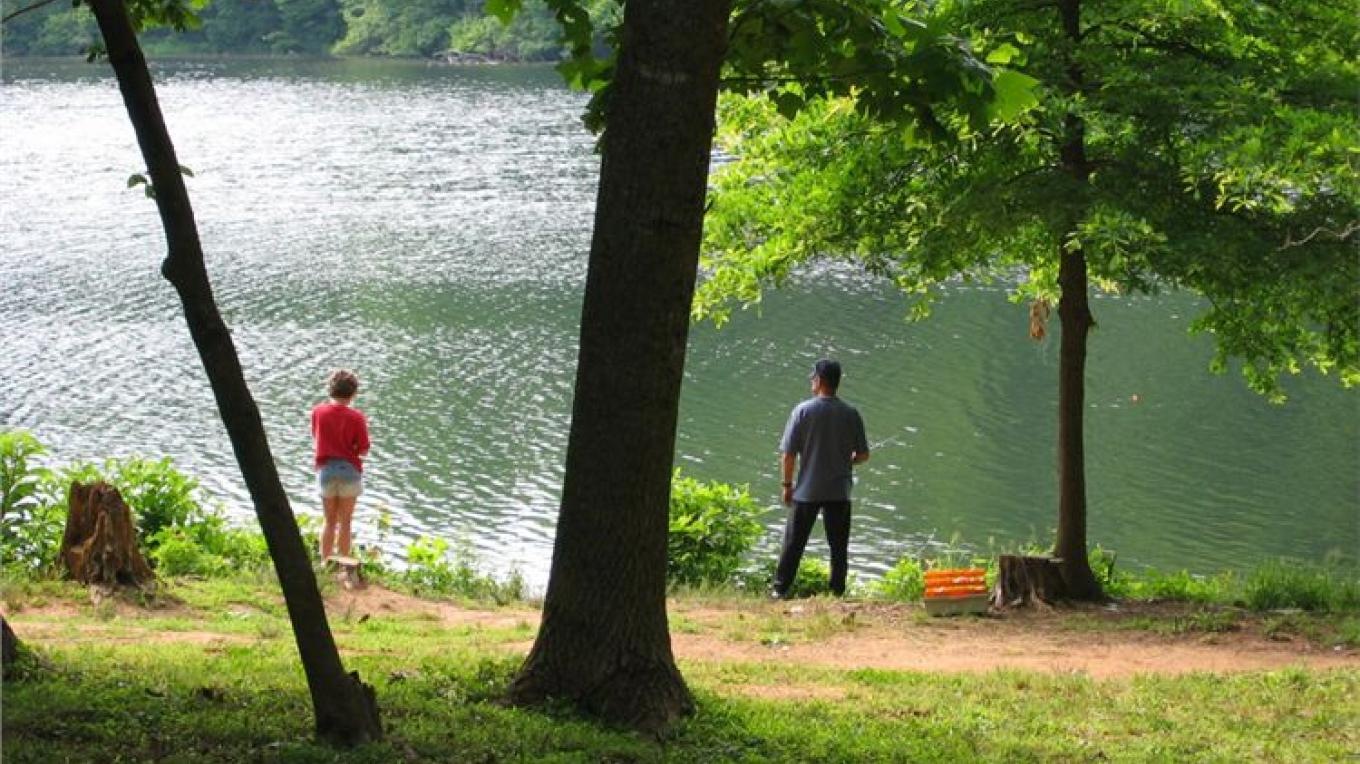 Fishing on Fort Mountain – Georgia State Parks